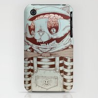 iPhone 3Gs & iPhone 3G Cases featuring Kitty Fun by Killer Napkins
