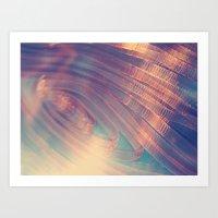 Blur//Four Art Print
