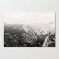 Yosemite Beauty (b&w)  Canvas Print