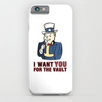 I Want You For The Vault iPhone 6 Slim Case