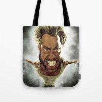 Wolverine Caricature Tote Bag