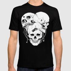 Bastard Mens Fitted Tee Black SMALL