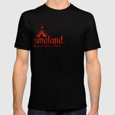 Dismaland Black Mens Fitted Tee SMALL