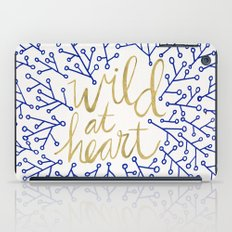 Wild at Heart – Navy & Gold iPad Case