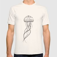 jelly Mens Fitted Tee Natural SMALL