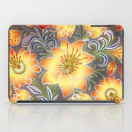 Shabby Flowers #3 iPad Case