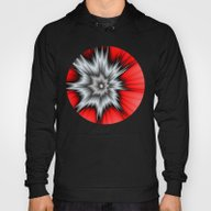 Crazy, Abstract Fractal … Hoody
