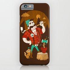 Green Thumberjack Slim Case iPhone 6s