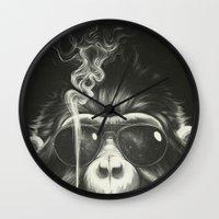 Smoke 'Em If You Got 'Em Wall Clock