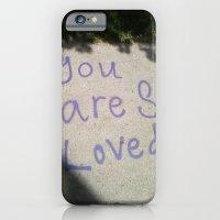 You Are So Loved ~ sidewalk love iPhone 6 Slim Case
