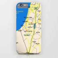 Israel Map Design iPhone 6 Slim Case