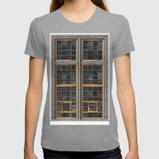 The Defenestration of Prague 04 Womens Fitted Tee Tri-Grey SMALL