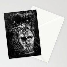 The Wise Simian (Gorilla) Stationery Cards