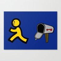 No Mail! Canvas Print