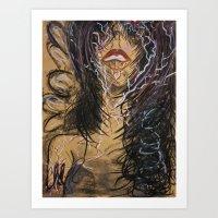 Unexplainable Surge Of M… Art Print