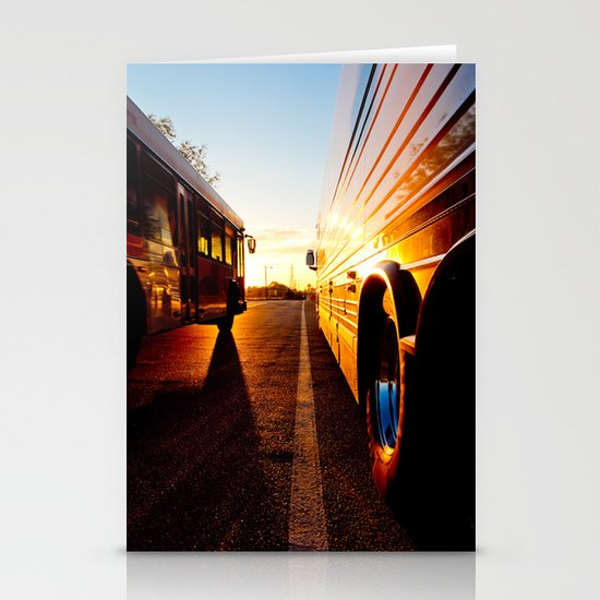 Two at Dusk Stationery Card