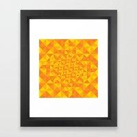 Pattern Series 067 Framed Art Print