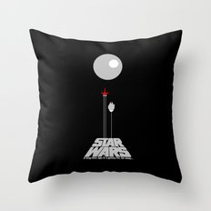 A New Hope III Throw Pillow