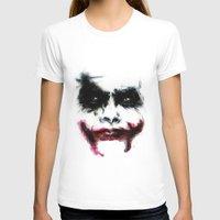 Joker Womens Fitted Tee White SMALL