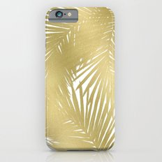 Palms Gold iPhone 6 Slim Case