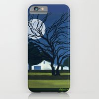 The Farm By Moonlight iPhone 6 Slim Case