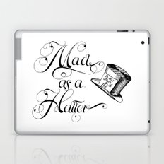 Alice in Wonderland Mad As A Hatter Laptop & iPad Skin