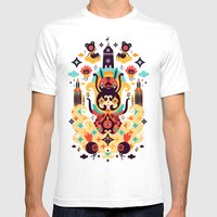 The Secret Key Mens Fitted Tee White SMALL