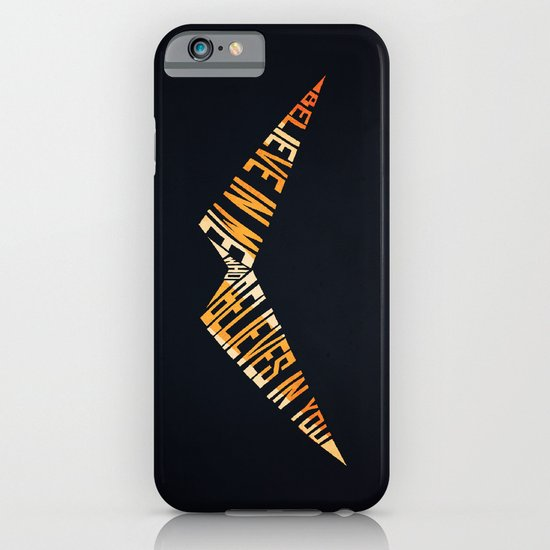Believe In Me Who Believes In You iPhone & iPod Case