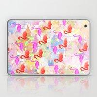 Red Hot Flamingo  Laptop & iPad Skin