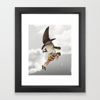 third beat II Framed Art Print