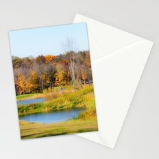 Fall at the Ponds Stationery Cards