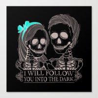 Lovely Bones Canvas Print