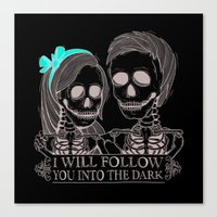 Lovely Bones Canvas Print