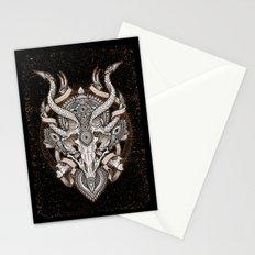 Siren Skull Stationery Cards