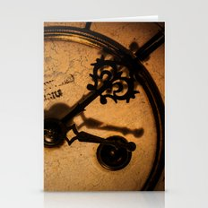 The Clock The Time  Stationery Cards