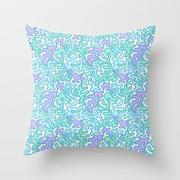 Wild Pattern 2 Throw Pillow
