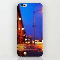 Bicycle and bokeh iPhone & iPod Skin