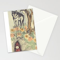 Wolf in the Woods Stationery Cards