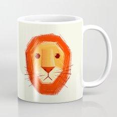 Sad lion Mug