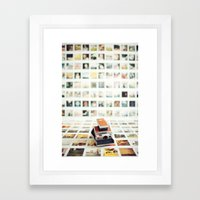 Polaroid Wall Framed Art Print