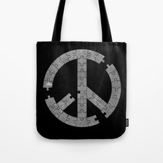 Puzzle Peace Tote Bag