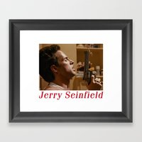 Jerry Seinfield Framed Art Print