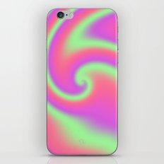 Tutti Frutti Ribbon Candy Fractal iPhone & iPod Skin
