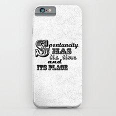 Spontaneity iPhone 6s Slim Case