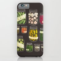 iPhone & iPod Case featuring Pickled by Stephanie Fizer Coleman