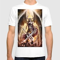 Lucifer Mens Fitted Tee White SMALL