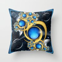 Midnight Dream Throw Pillow