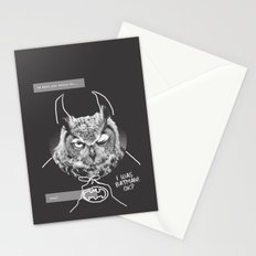 owl or not Stationery Cards