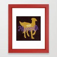Hippogriffs Framed Art Print