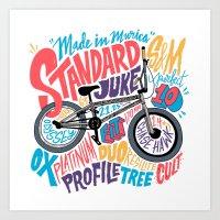 Standard Juke V.2 Art Print